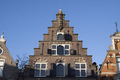 葡萄酒荷兰语大厦 免版税库存图片