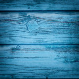 葡萄酒蓝色木背景 免版税库存图片