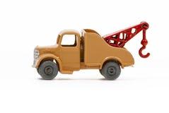 葡萄酒被印模的玩具拖车 图库摄影