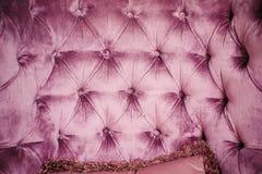 葡萄酒被按的纺织品时髦的室内装饰品纹理  免版税库存照片