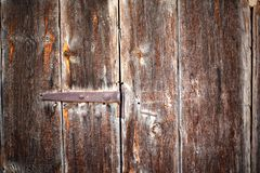 葡萄酒被绘的木背景 免版税库存图片