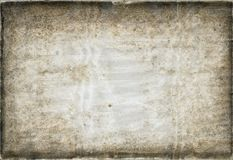 葡萄酒装饰压印的纸 免版税库存图片