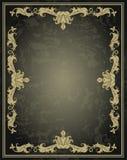 葡萄酒装饰品框架 库存照片