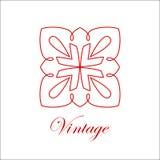 葡萄酒装饰物商标 库存图片