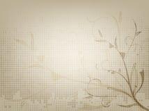 葡萄酒装饰老纸背景 免版税库存图片