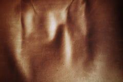 葡萄酒褐色皮革沙发特写镜头纹理  图库摄影