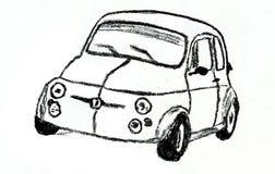 葡萄酒赛车 免版税库存照片