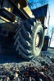 葡萄酒路的巨型轮子的细节 库存图片