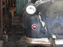 葡萄酒车的减速火箭的颜色作用样式后方  免版税库存图片