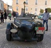 葡萄酒车的经典车 免版税库存图片