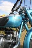 葡萄酒道格拉斯蜻蜓摩托车 库存照片