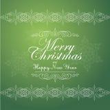葡萄酒邀请的圣诞节背景, 免版税库存照片