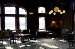 葡萄酒酒吧餐馆 图库摄影