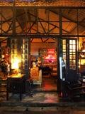 葡萄酒酒吧,泰国 免版税库存图片