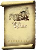 葡萄酒酒标签 皇族释放例证