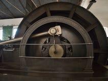 葡萄酒采矿蒸汽引擎 库存照片
