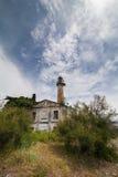葡萄酒金属灯塔,苏呼米,阿布哈兹 库存照片