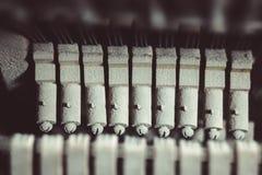 葡萄酒钢琴锤子机制 库存照片