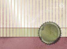 葡萄酒镶边背景 免版税图库摄影