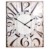 葡萄酒长方形时钟 库存图片