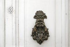 葡萄酒门装饰 库存照片