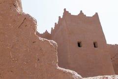葡萄酒阿拉伯大厦在遗产阿拉伯人村庄 免版税图库摄影