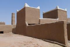 葡萄酒阿拉伯大厦在遗产阿拉伯人村庄 库存照片