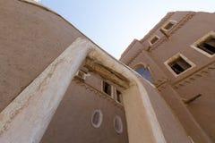 葡萄酒阿拉伯大厦在遗产阿拉伯人村庄 免版税库存图片