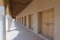 葡萄酒阿拉伯大厦在遗产阿拉伯人村庄 库存图片