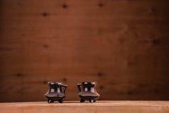葡萄酒陶瓷罐 免版税库存图片