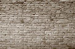 葡萄酒难看的东西砖墙 免版税库存照片