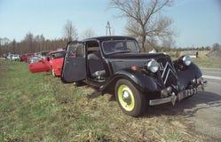 葡萄酒雪铁龙11 4个圆筒汽车 免版税库存照片