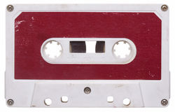 葡萄酒音频混合磁带 库存照片