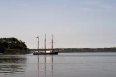 葡萄酒风船在丹麦 库存照片