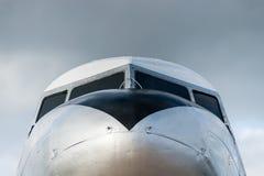 葡萄酒飞机DC 3 库存照片
