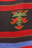 葡萄酒,东方人,五颜六色的手工制造传统羊毛地毯3 免版税库存图片