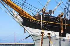 葡萄酒1886帆船, 库存图片