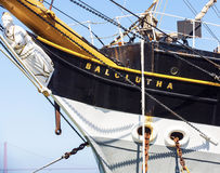 葡萄酒1886帆船, 免版税库存图片