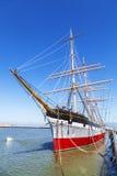 葡萄酒1886帆船, 免版税图库摄影