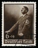 葡萄酒1939德国人德国政府邮票 库存图片