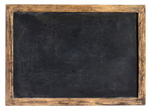 葡萄酒黑板或学校板岩 图库摄影