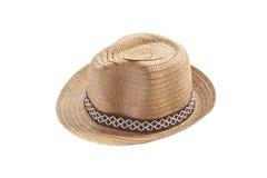 葡萄酒织法帽子 免版税库存图片