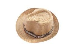 葡萄酒织法帽子 库存照片