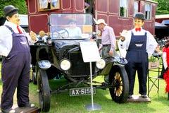葡萄酒1924年福特模型T游览车 库存照片