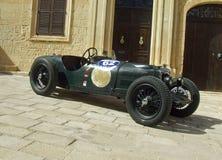 葡萄酒1934年赖利TT魍魉赛车 免版税库存照片