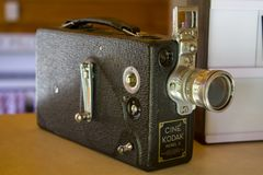 葡萄酒16mm照相机 库存图片