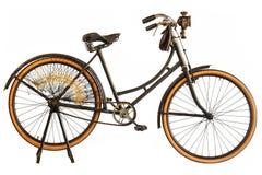 葡萄酒20世纪初的世纪自行车 免版税库存图片