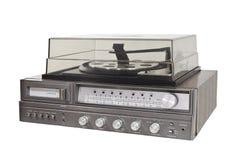 葡萄酒20世纪70年代8跟踪立体声电唱机 免版税库存图片