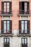 葡萄酒Balconys 免版税图库摄影
