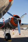 葡萄酒DC-3飞机 库存照片